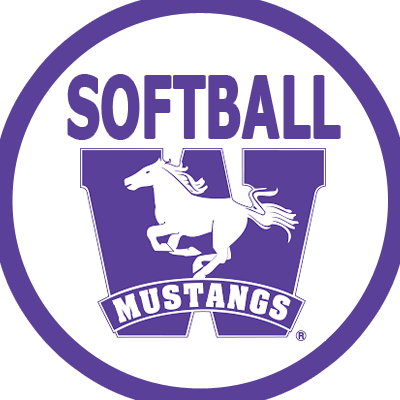 Logo for Western Mustangs Womens Softball
