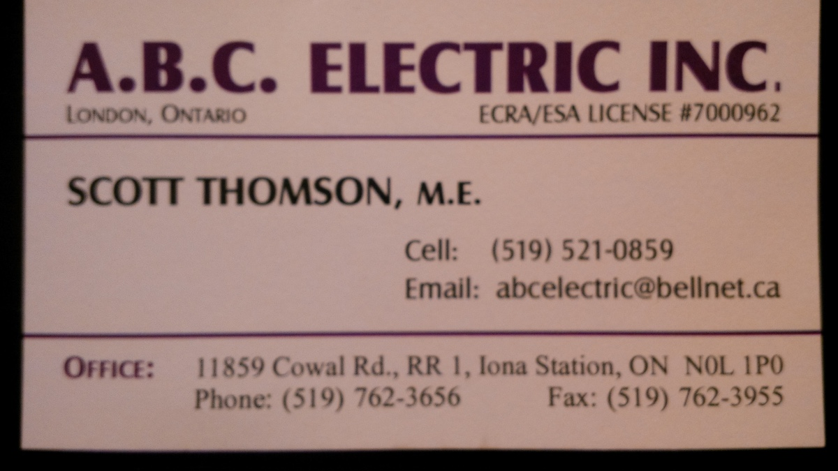 A.B.C Electric Inc